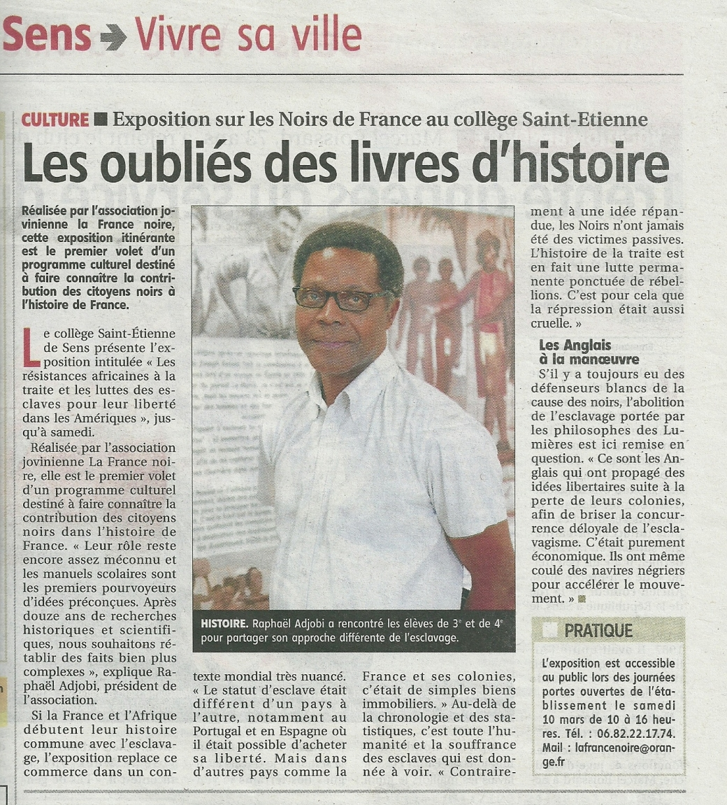 Yonne Républicaine 7 mars 2018