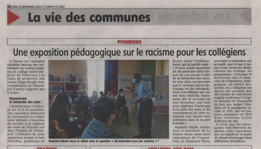 Pithiviers nov. 2020