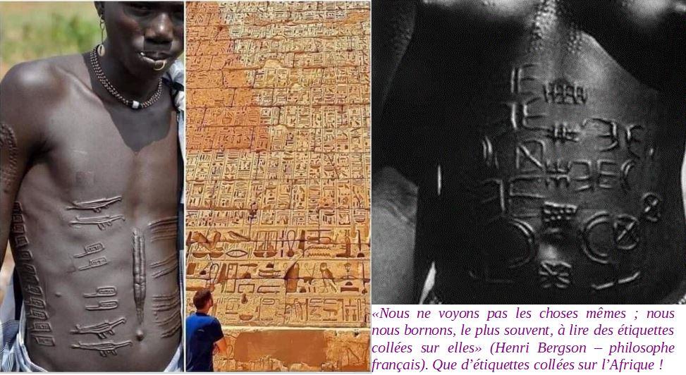 Hiéroglyphes corps