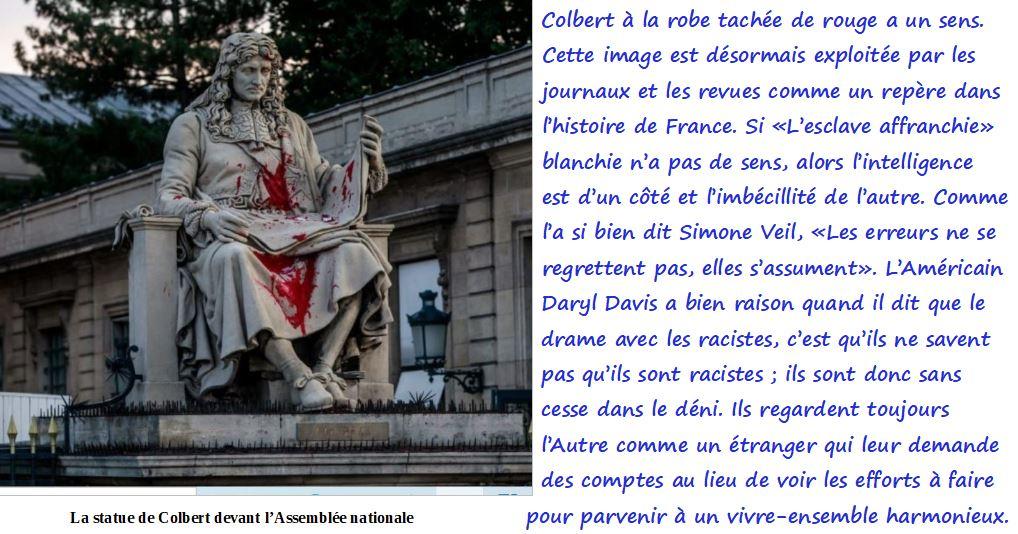Colbert devant l'Assemblée